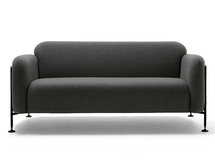 mega sofa blue denim sleeper 2 seater by massproductions design chris martin