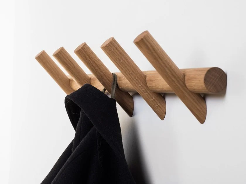 Meter Wall Mounted Coat Rack By Pikka Design Raketa Katjusa Kranjc Rok Kuhar