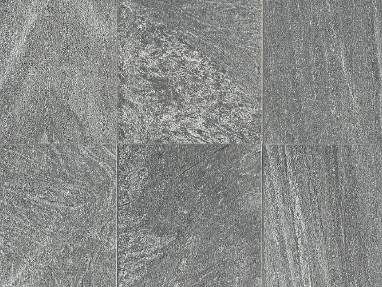 Pavimento per esterni in gres porcellanato a tutta massa effetto pietra MINERAL D Galena
