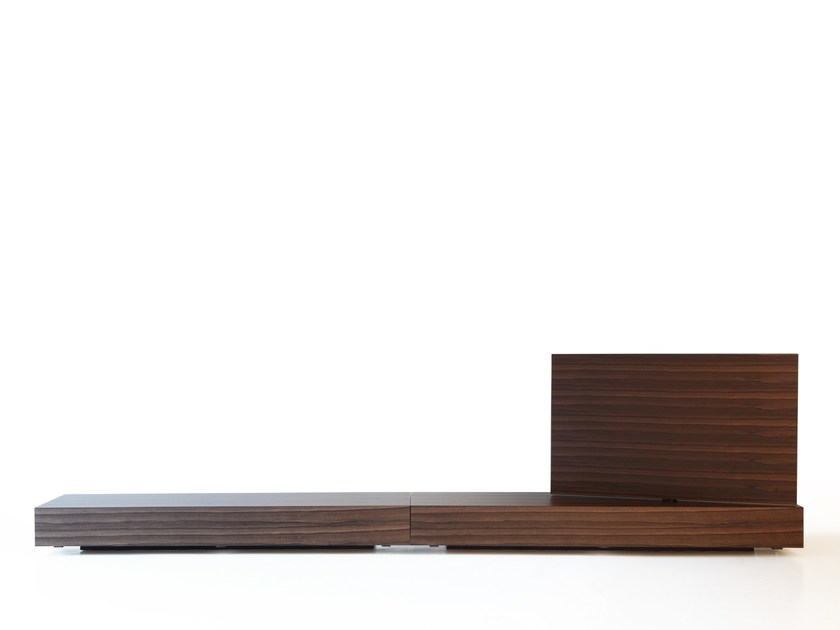 Low TV Cabinet MODERN FLAG By Porro Design Piero Lissoni