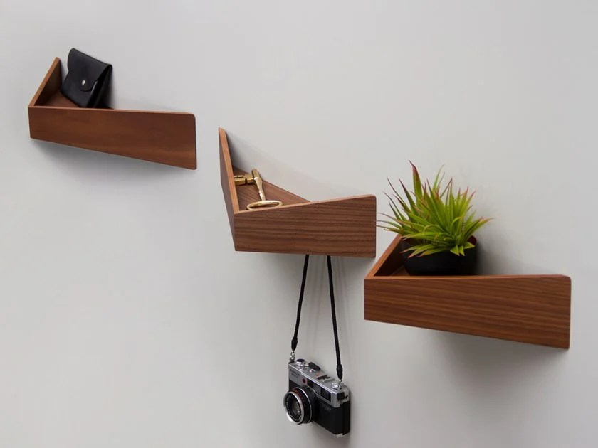 Wooden Coat Rack Wall Shelf Pelican Small I Wooden Shelf With Hooks By Woodendot