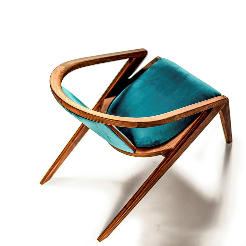 turquoise lounge chair swing for toddlers solid wood with armrests portuguese roots by aroundthetree