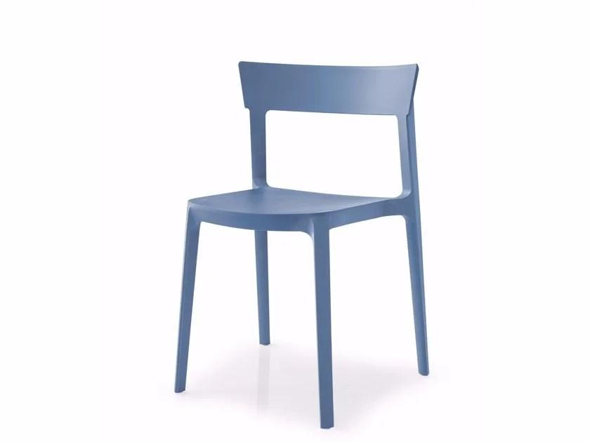 Sedia in polipropilene SKIN By Calligaris design Archirivolto
