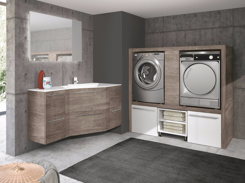 Mobile lavanderia componibile STORE EXCELLENT By Gruppo