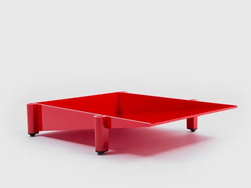 Corbeille A Courrier En Technopolymere Sumatra By Danese Milano Design Enzo Mari