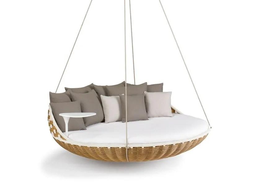 swing chair pics bean bag chairs ikea swingrest 3 seater garden hanging by dedon design daniel pouzet