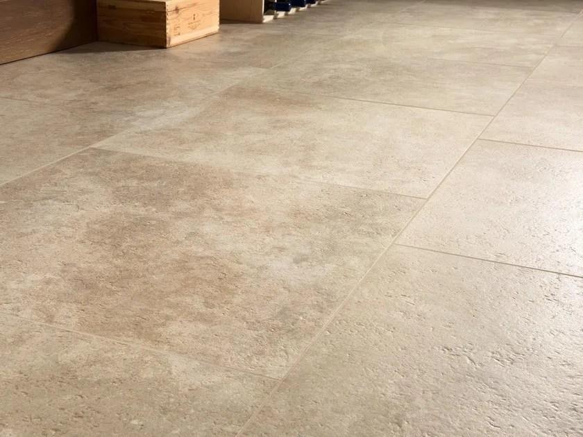 Pavimentorivestimento in gres porcellanato effetto pietra