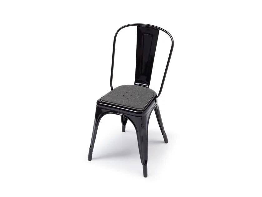 tolix chair cushion blue wingback felt by hey sign