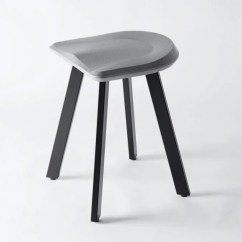 Bar Chairs Concrete Costco High Chair A Low Stool By Bentu Design
