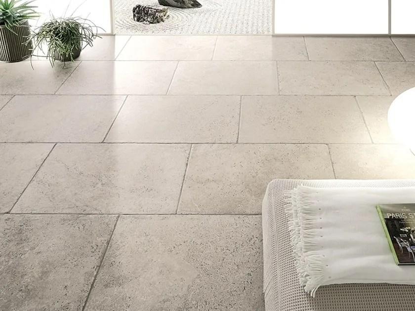 Pavimento effetto pietra per interni ed esterni AQUITAINE  Ceramiche Coem