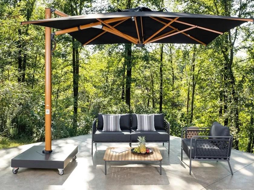retractable garden umbrellas