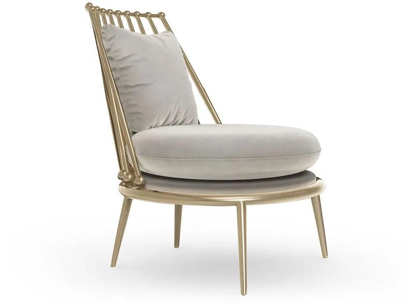 metal armchair royal botania alura aurora collection by cantori design