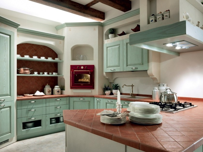 Cucina componibile in frassino CARMEN  Cucina in stile