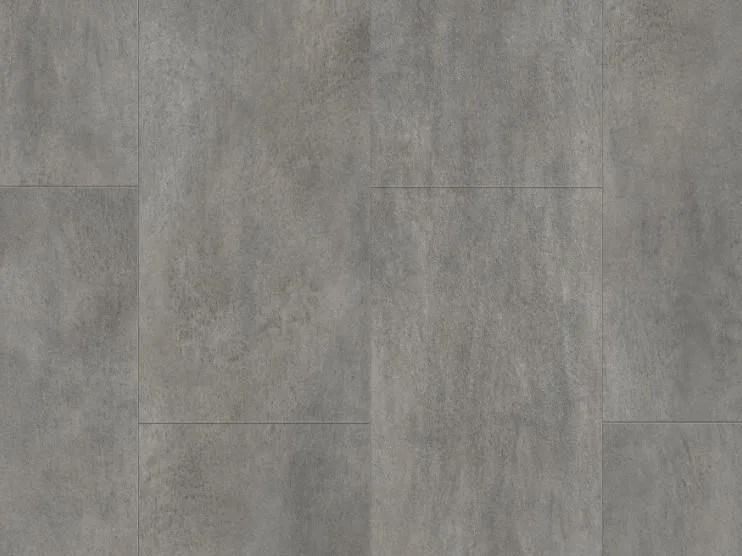 Vinyl flooring with concrete effect DARK GREY CONCRETE