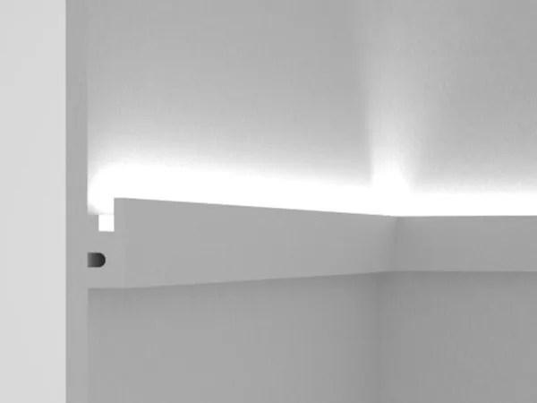 Profilo per illuminazione lineare per moduli LED Cornice