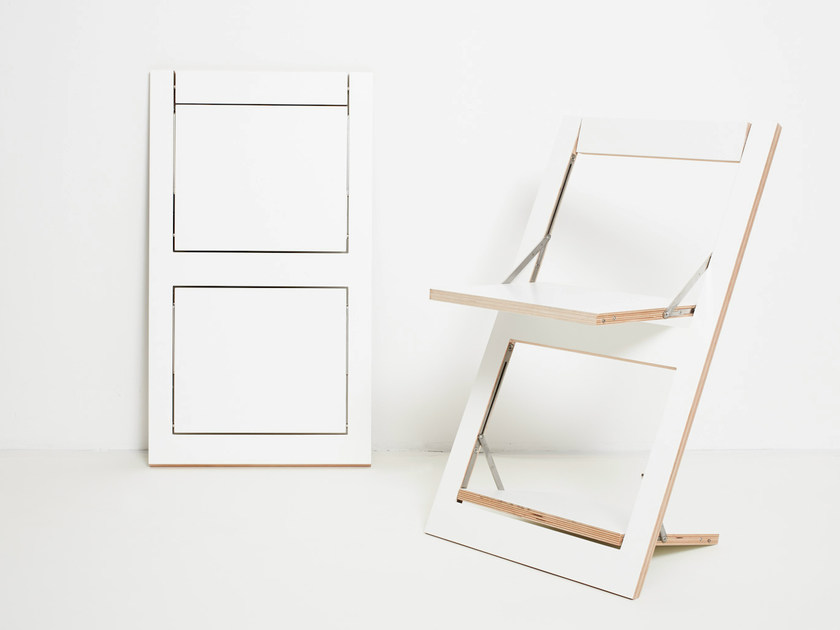 white folding chair office accessories in singapore open back plywood flapps ambivalenz