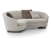 JACQUES | Curved sofa Jacques Collection By Minotti