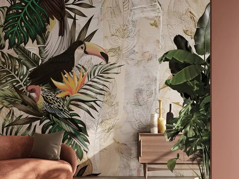 Una vasta selezione di prodotti ai migliori prezzi. Tropical Wallpaper Iquitos Sketchbook 2020 Collection By Inkiostro Bianco