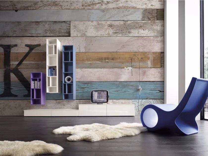 Una carta da parati di design è l'ideale per portare un po' Wood Effect Panoramic Wallpaper K E I Collection 2014 Collection By Inkiostro Bianco