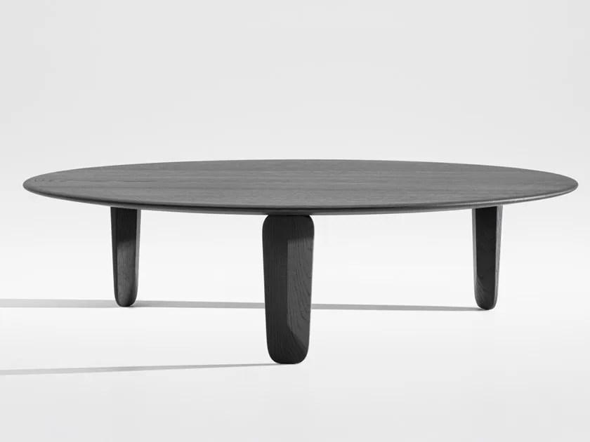 kuyu round coffee table by zeitraum