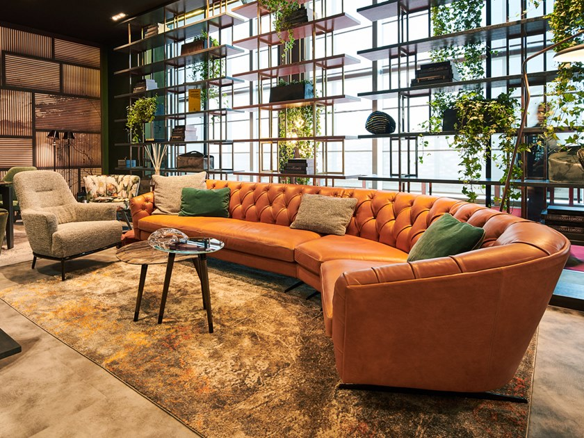 new kap sofa aus leder kollektion new