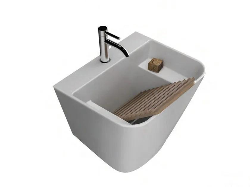 Lavabo  lavatoio in ceramica MEG11 Collezione Meg11 By GALASSIA design Antonio Pascale