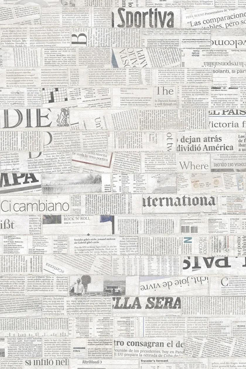 Stampa la tua carta da parati personalizzata con pixartprinting. Carta Da Parati Effetto Mattoni In Stile Moderno Con Scritte Newsbrick Tecnografica