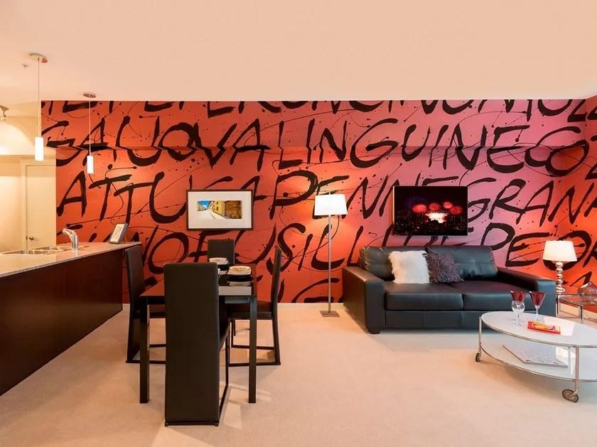 Minuti sarete in grado di decorare le pareti della vostra casa come meglio preferite. Carta Da Parati In Fibra Di Vetro In Stile Moderno Con Scritte Origano Collezione I Decorativi By Tecnografica