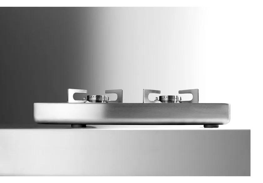Piano cottura a gas a induzione da appoggio in acciaio inox PIANI COTTURA DA APPOGGIO  Piano