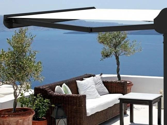 Progettazione e realizzazione su misura. Freestanding Folding Arm Awning Ombralsun By Ke Outdoor Design