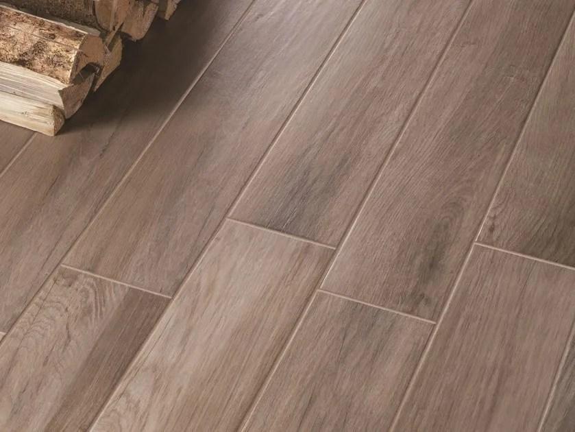 Pavimento in gres porcellanato smaltato effetto legno TREVERKMOOD  MARAZZI