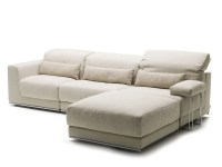 RECLINER SOFA BED WITH CHAISE LONGUE JOE BY MILANO BEDDING ...