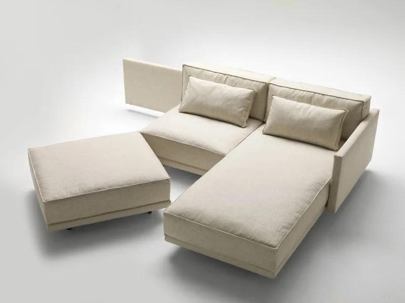Divano letto con chaise longue DENNIS  Milano Bedding