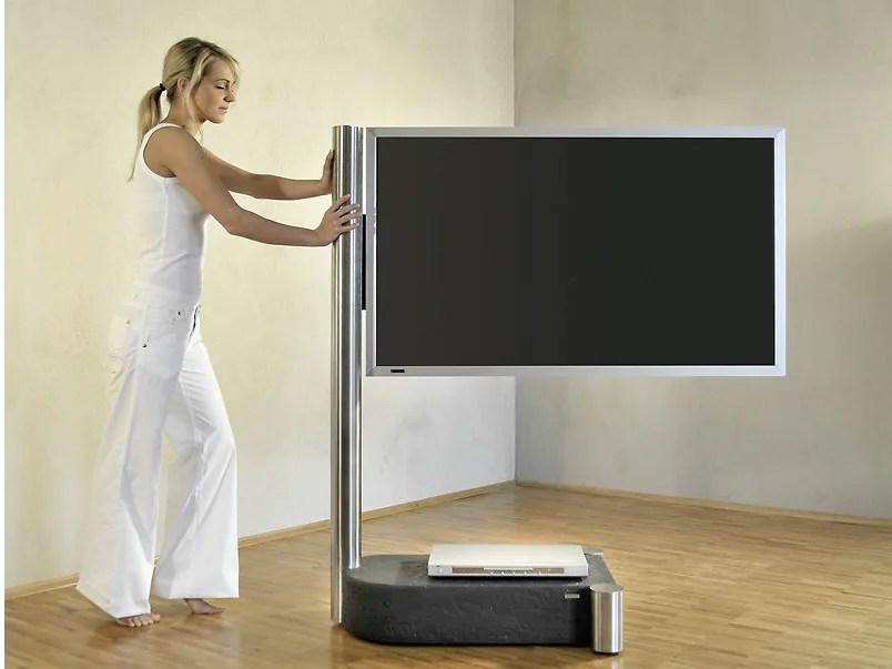 Supporto per monitorTV in acciaio inox 110  Supporto per