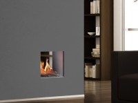 PORTOFINO Double-sided Fireplace insert by ITALKERO