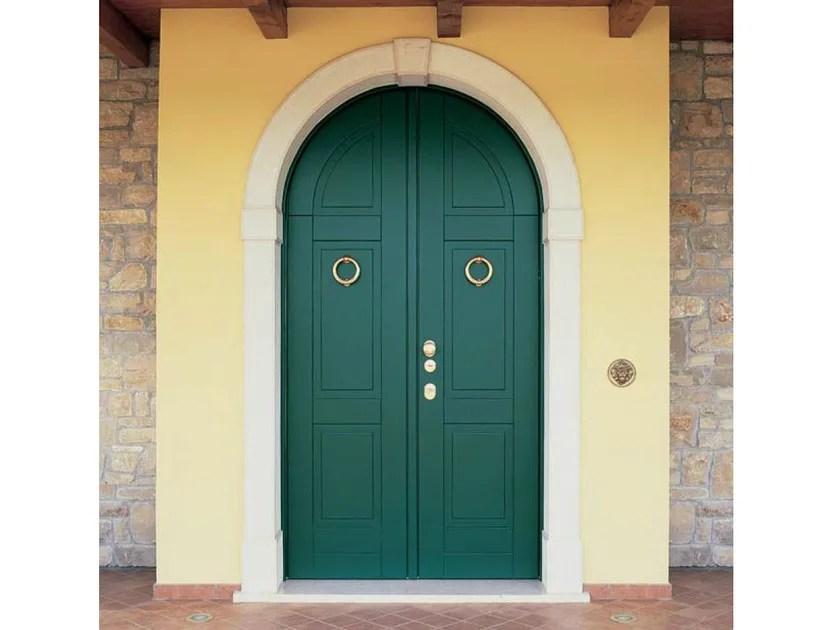 Porta dingresso blindata ad arco per esterno Porta d