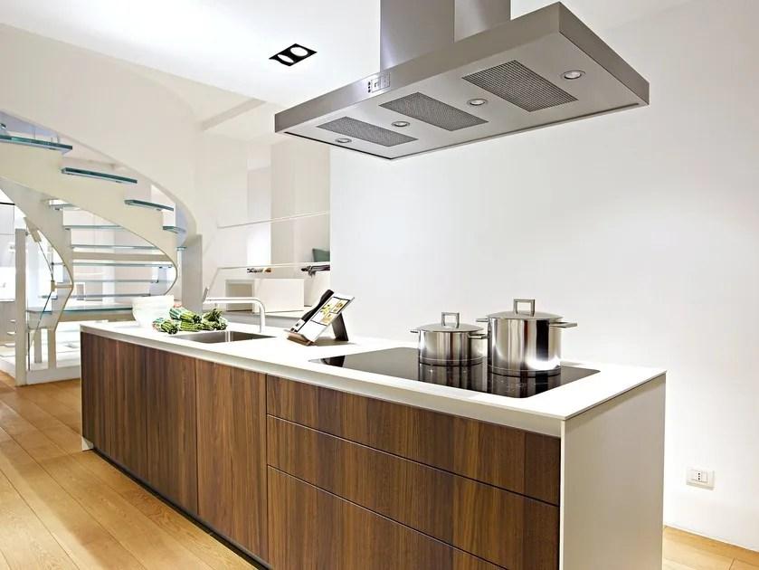 Cucina componibile con isola B3  Cucina in legno  Bulthaup