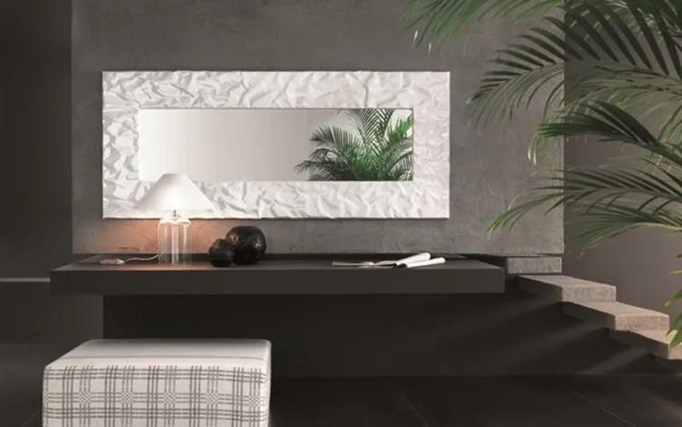 Specchio a parete con cornice MITO  Specchio  RIFLESSI