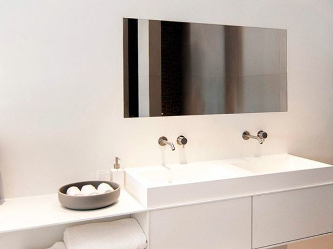Lavabo singolo in Solid Surface COCOON CUSTOM 50 By COCOON
