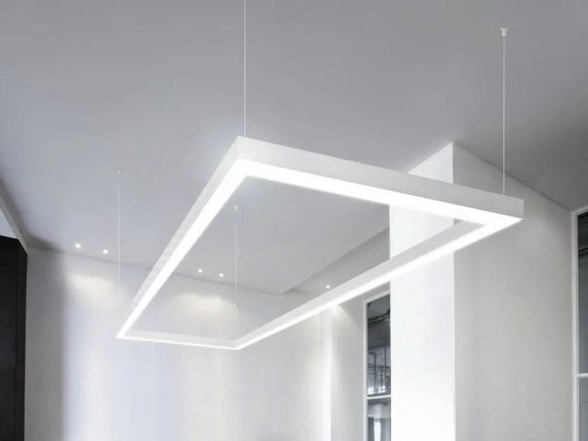 Lampada a sospensione a LED in alluminio estruso NOLITA