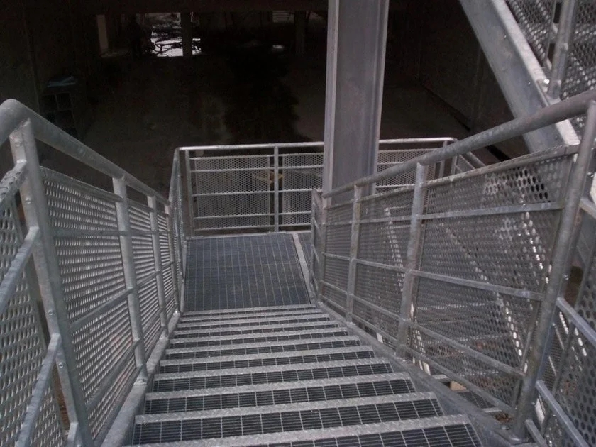 Step For Fire Escape Staircases Standard Grating Steps By   Steel Fire Escape Stairs   Architectural   Internal   Industrial   Emergency   Fire Exit