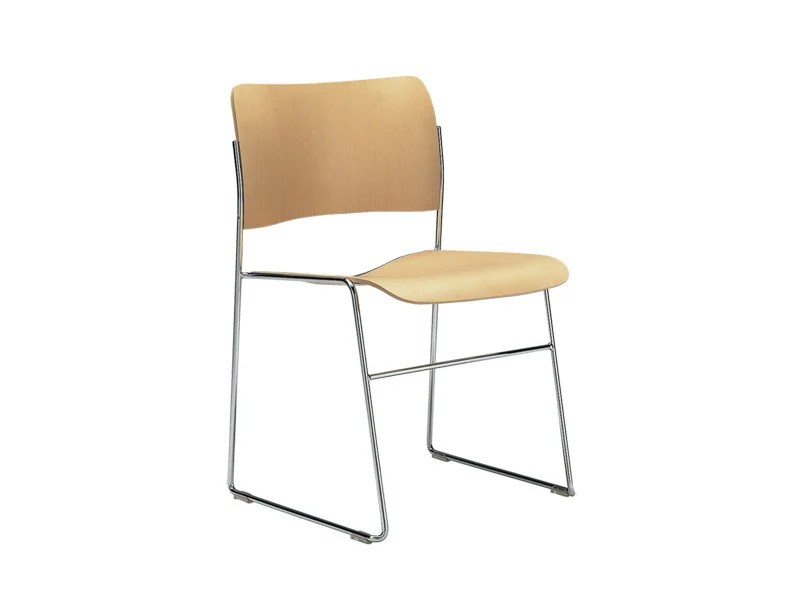 david rowland metal chair ikea kitchen table and chairs set 40 4 steel wood visitor s by howe design