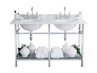 Double console sink CELINE by GENTRY HOME