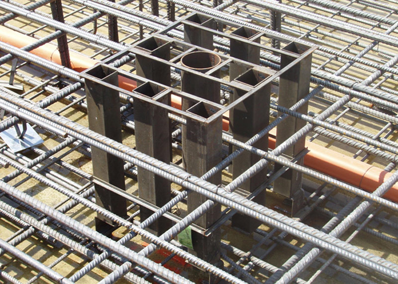 Elemento strutturale prefabbricato in cemento armato