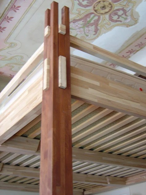 Letto a soppalco in legno YEN  Letto a soppalco  Cinius