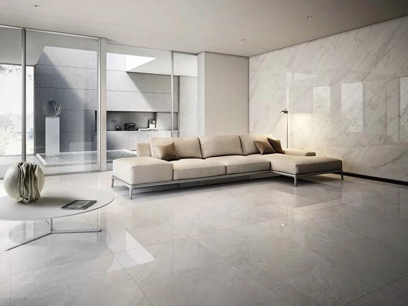 Pavimentorivestimento in gres porcellanato smaltato effetto marmo I MARMI  Ceramica dImola