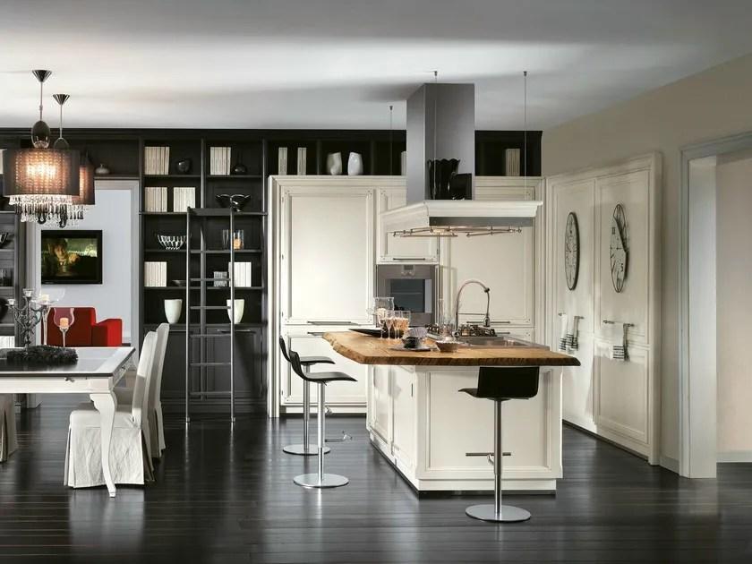 Cucina componibile con isola LIVING  LOttocento