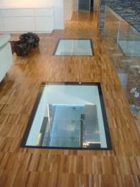 Anti-slip glass flooring LITE-FLOOR By Glassolutions