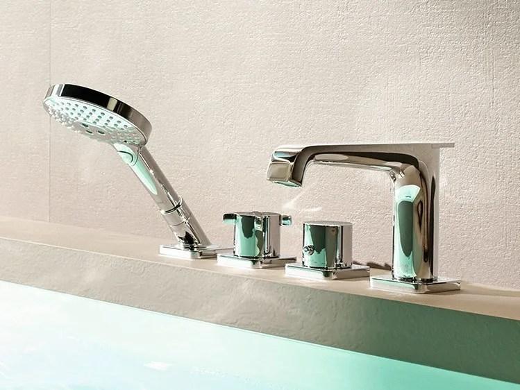 AXOR CITTERIO E Bathtub Set By HANSGROHE Design Antonio