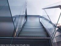 Anti-slip glass MADRAS MATRIX FLOORING By Vitrealspecchi